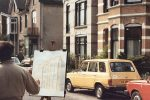 foto uit 1984, de bekroning is nog aanwezig