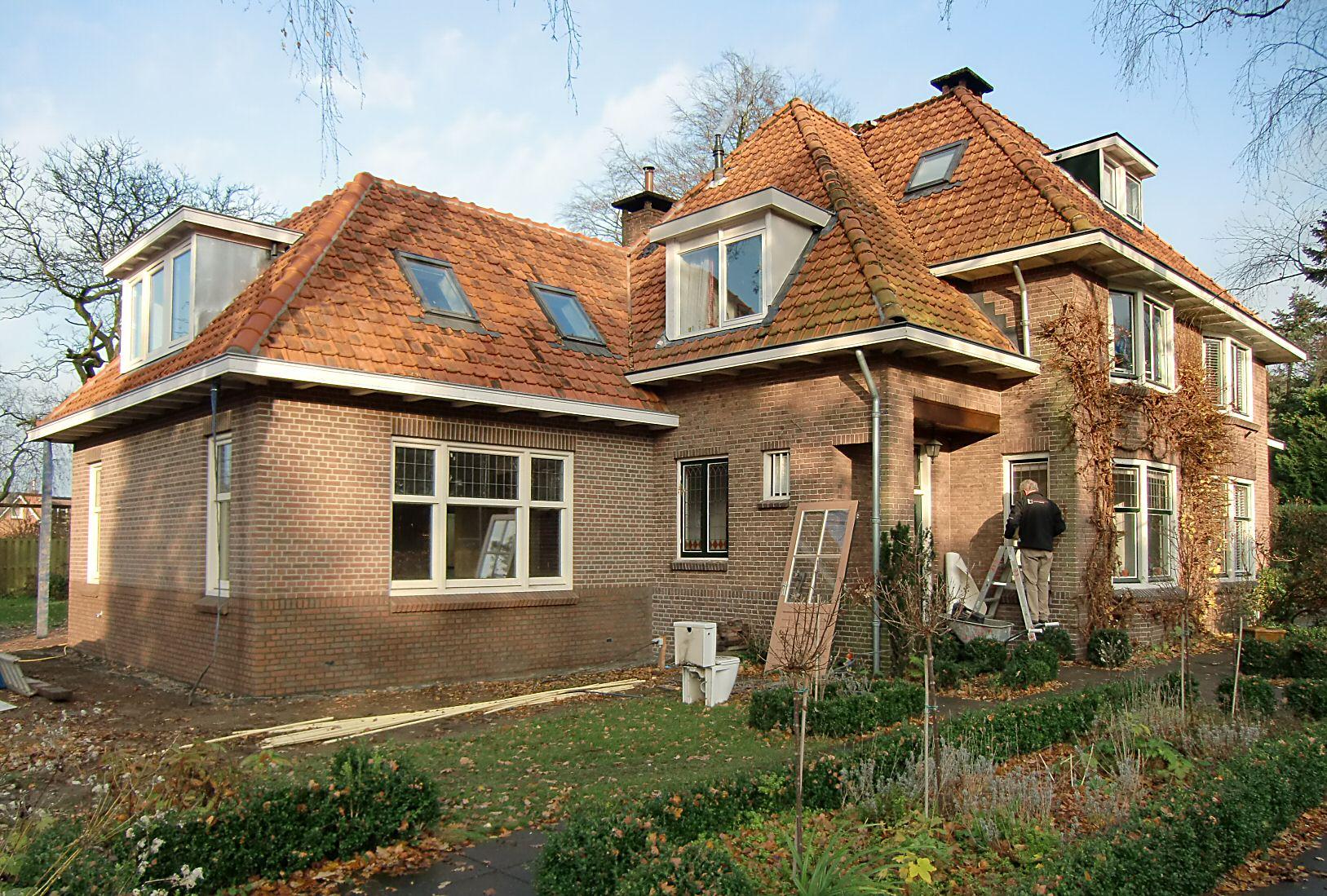 Doorn uitbreiding jaren 39 20 woonhuis architectenbureau van l ben sels - Bureau van de uitbreiding ...