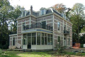 Baarn, restauratie monumentaal herenhuis