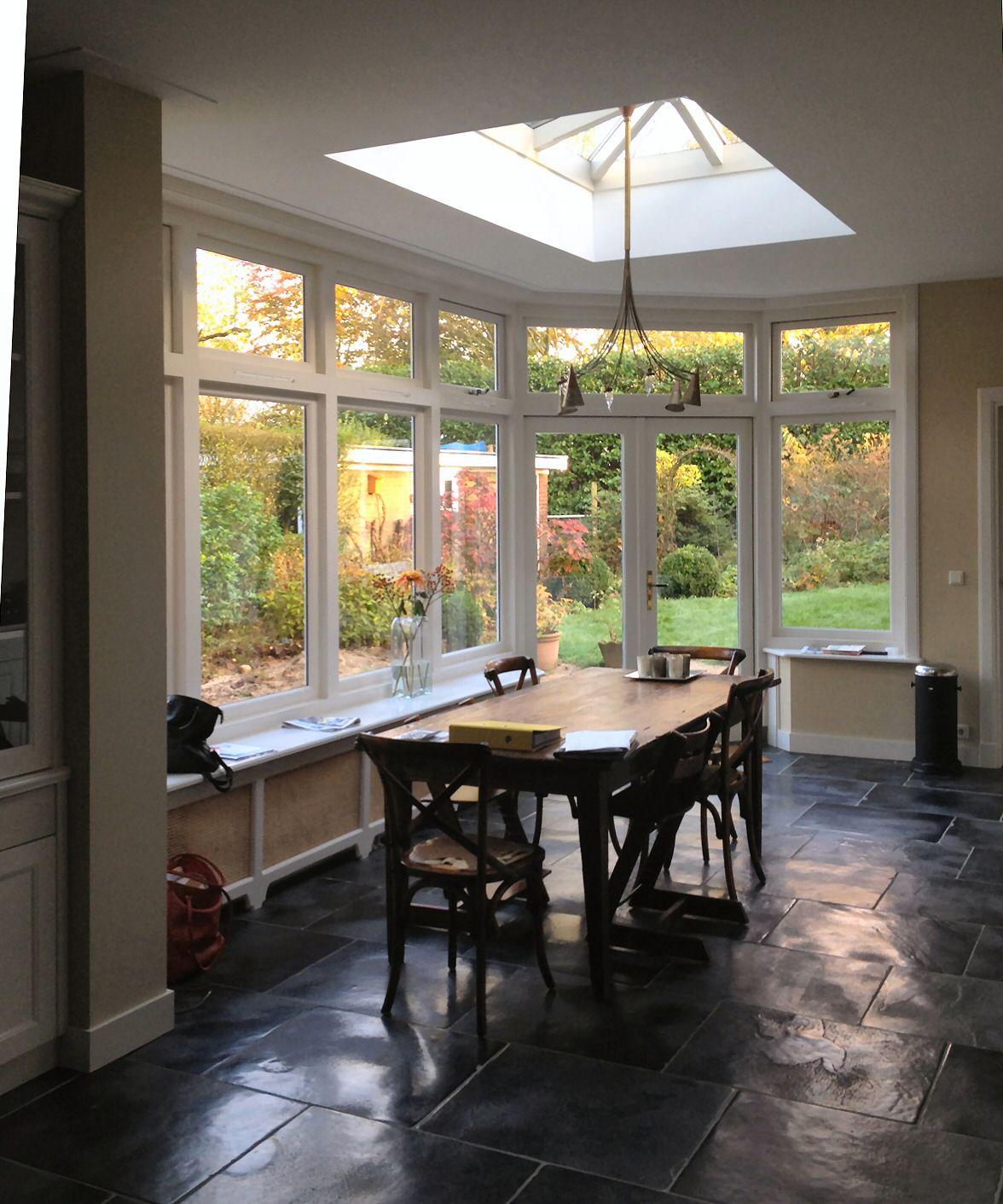 Oosterbeek uitbreiding jaren 39 30 woning architectenbureau van l ben sels - Uitbreiding huis glas ...