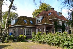 Doorn, uitbreiding jaren '20 woonhuis