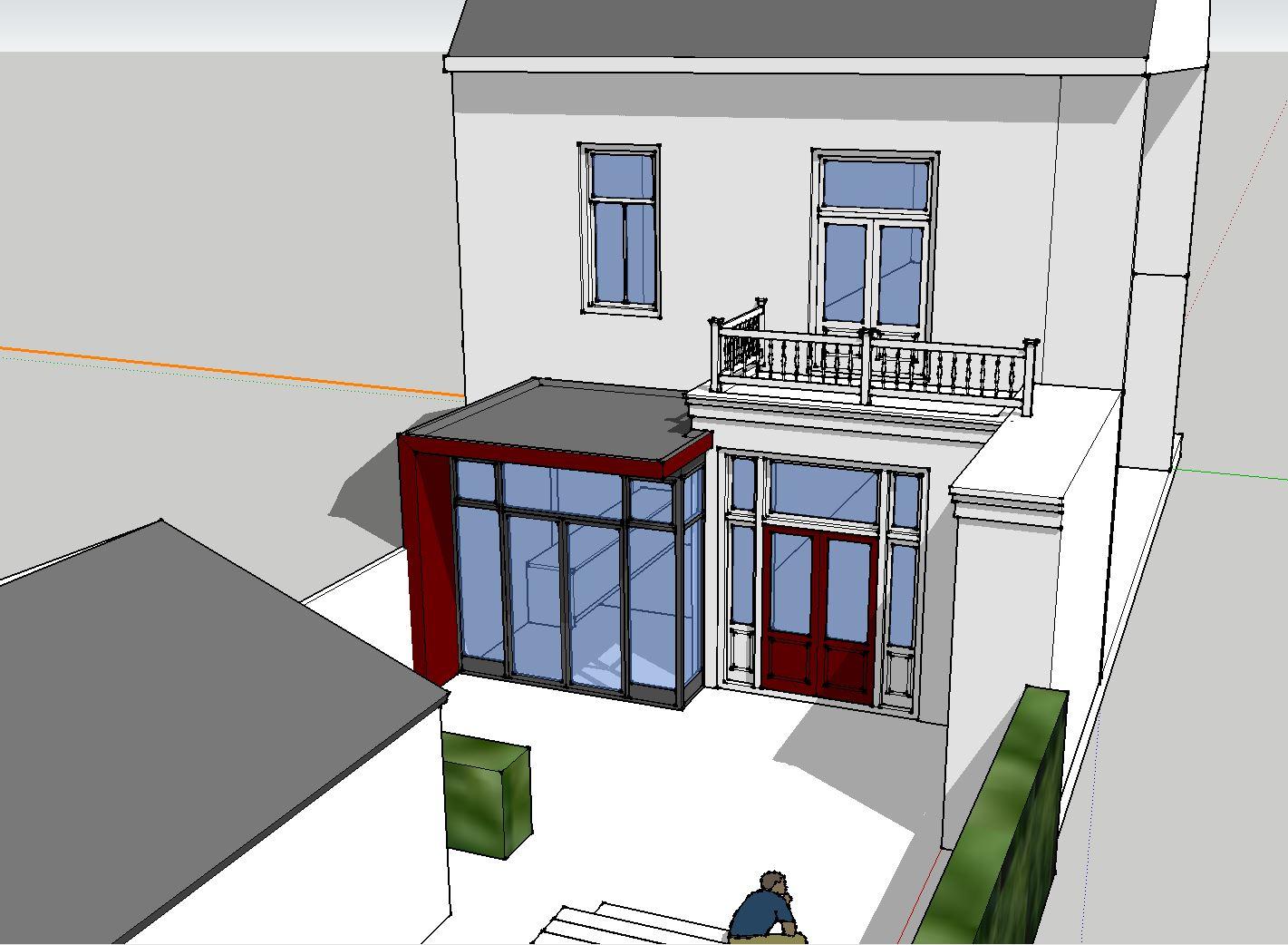 Amersfoort uitbreiding monumentaal herenhuis architectenbureau van l ben sels - Bureau van de uitbreiding ...